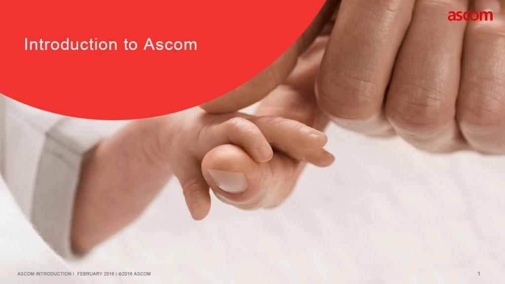 Ascom PowerPoint Template by IDU Creative