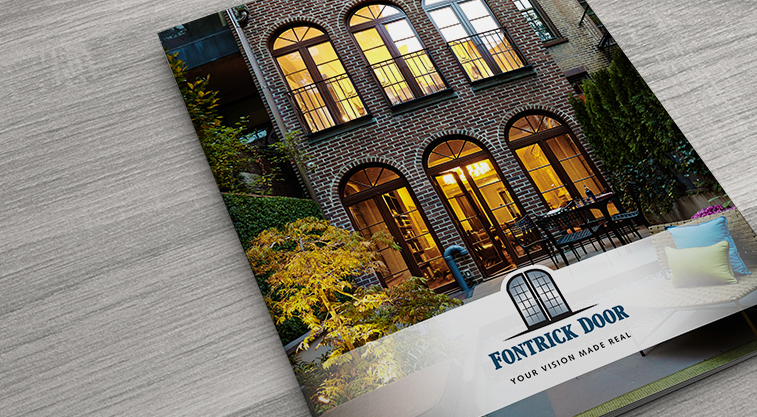 Fontrick Door Graphic Design