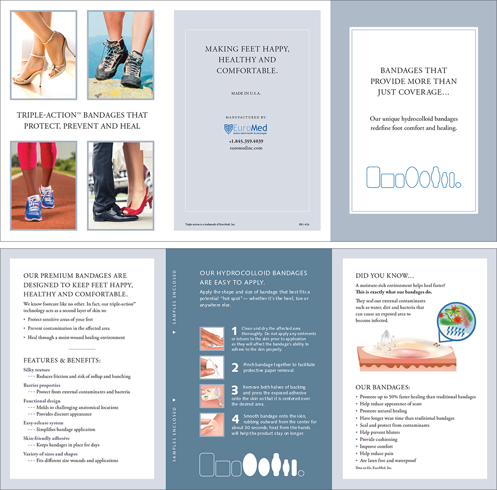 Euromed brochure examples