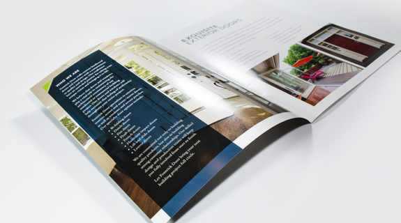 Glossy Brochure Graphic Design Printing Design