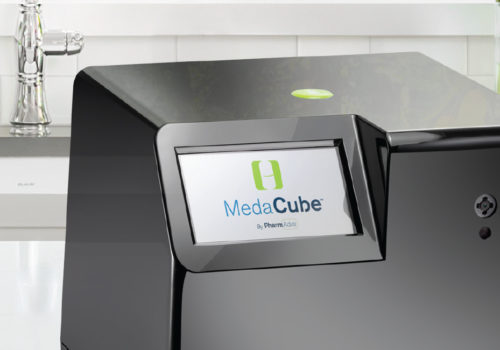 Medacube Logo Design