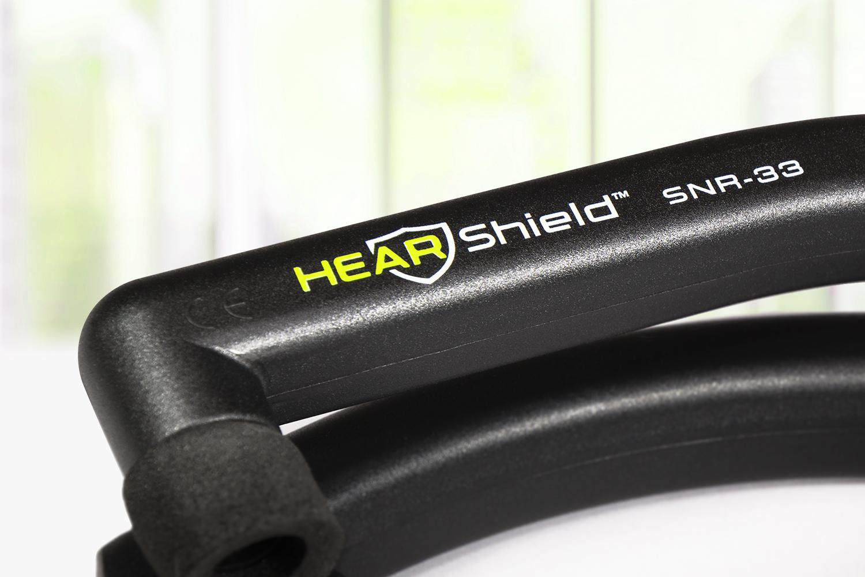 HearShield Logo and Brand Design