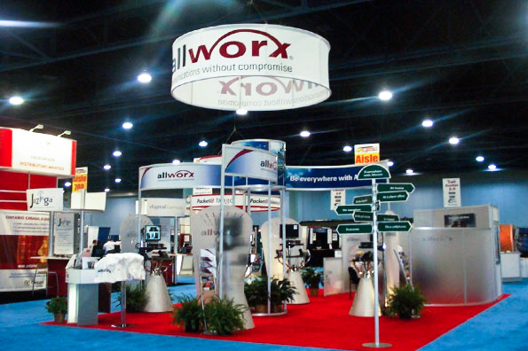 Booth Design for Award-Winning Trade Show Exhibit