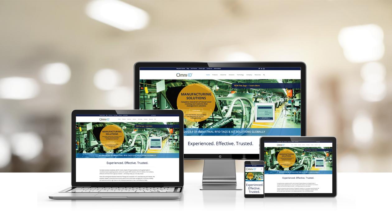 Omni-ID Web Design Header